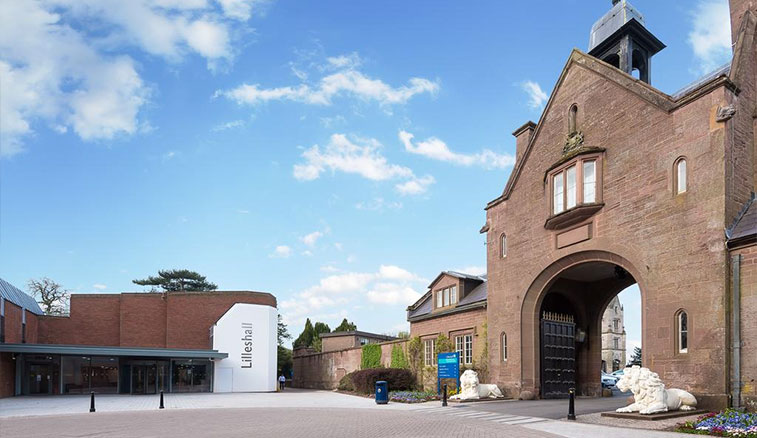 Lilleshall National Sports Centre's famous 'Lion Arch'