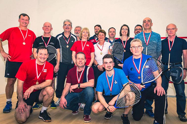 Charity Racketball tournament raises over £800